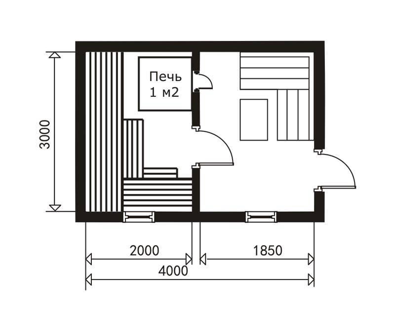 Проект бани метражом 4х6 (78 фото): схема каркасной бани площадью 4 на 6 с верандой, варианты с террасой