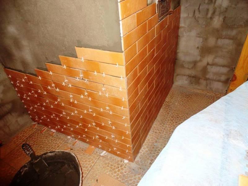 Керамическая плитка в бане — интересные решения