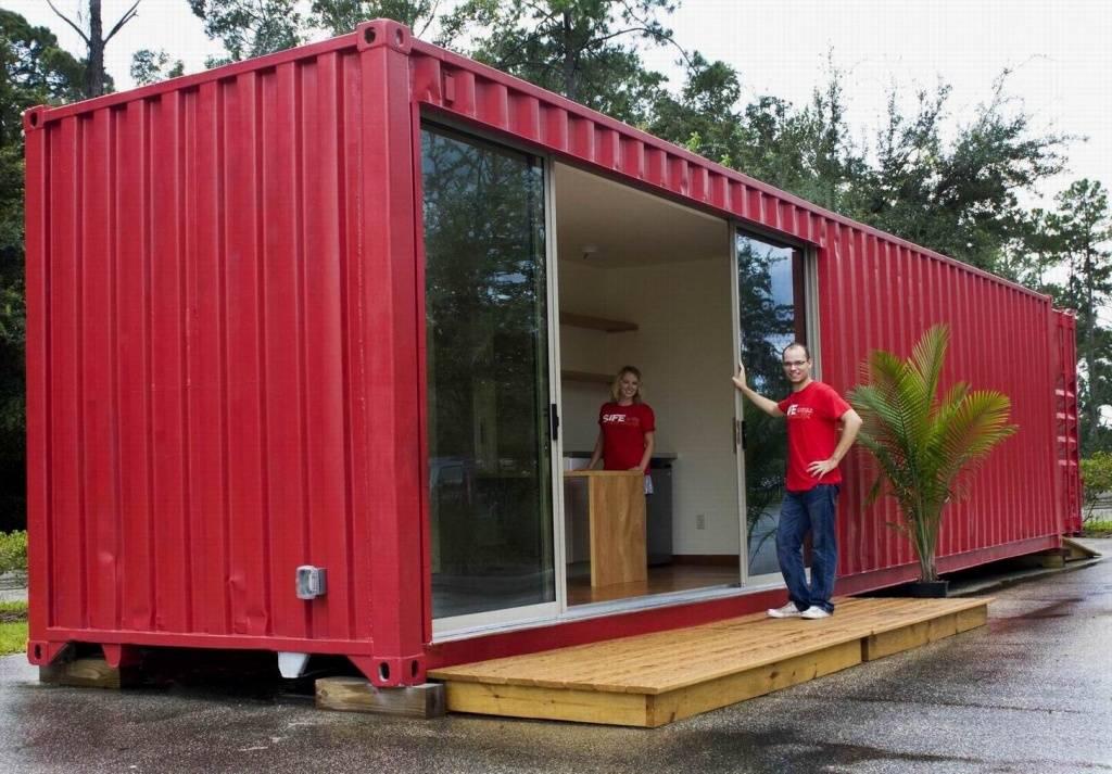 Дом из морских контейнеров: плюсы и минусы, проекты, фото