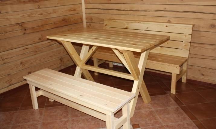 Скамейки из дерева, рекомендации по изготовлению разных видов мебели