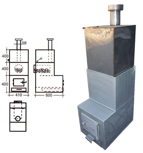 Печь для бани своими руками (125 фото): фундамент под котел, как сделать печку с высоким кпд, чертежи и схемы