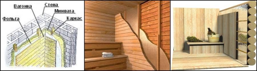 Как правильно сделать парилку в бане: устройство, отделка и утепление