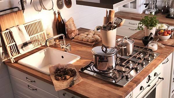 Рабочая зона на кухне (48 фото): организация рабочего места, выбор его высоты и других размеров. плюсы и минусы рабочей зоны из стекла в центре кухни