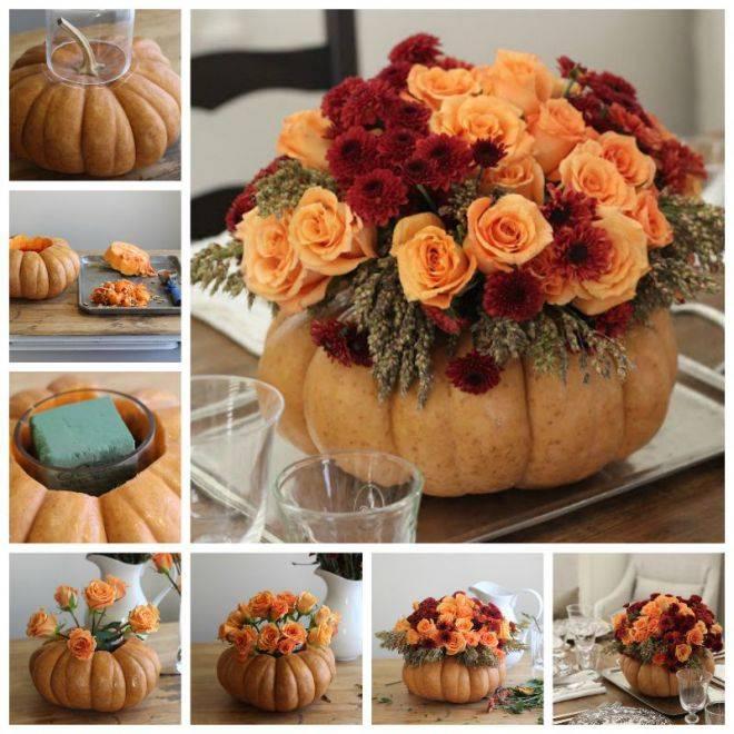 Осенние букеты своими руками: учимся собирать композиции с яркими оттенками сезона