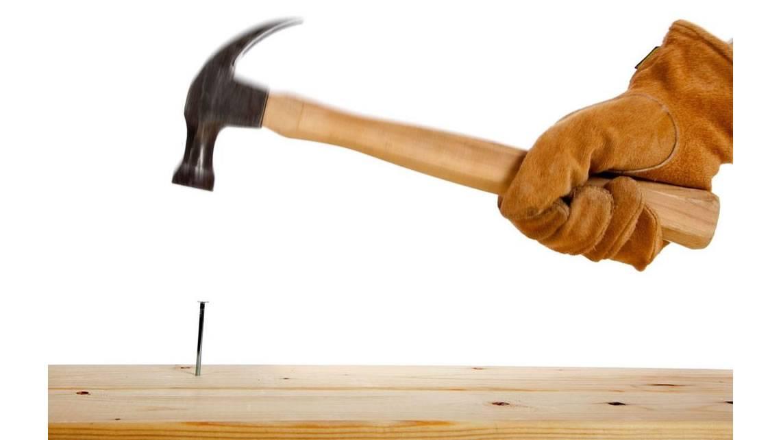 Как забить гвоздь: советы мастера