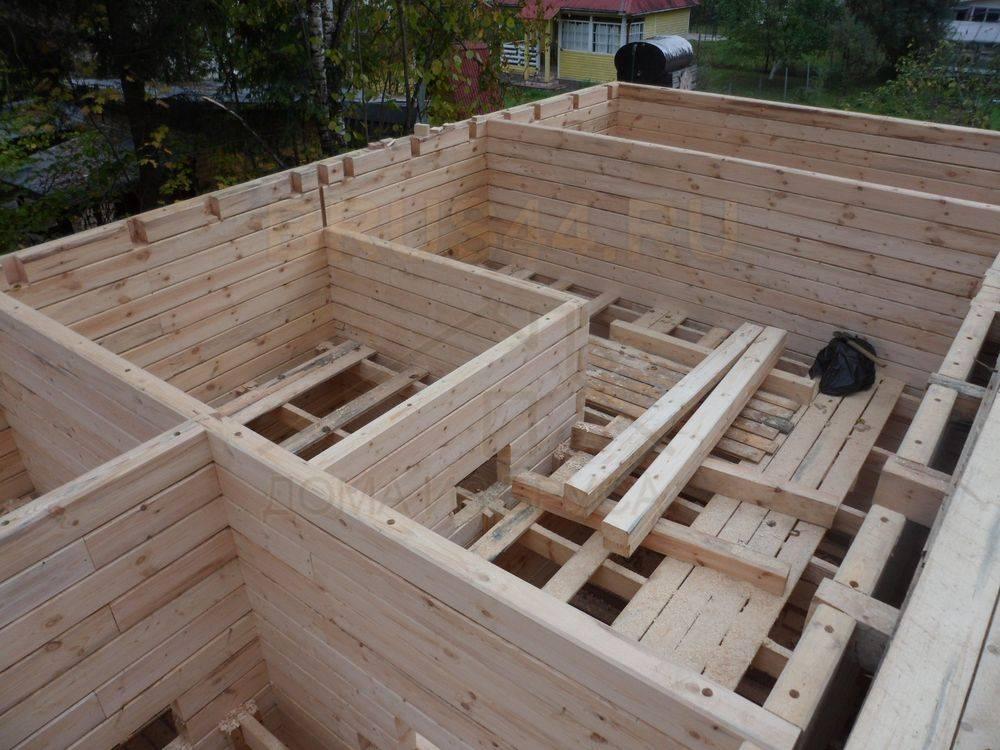 Как построить баню из бруса своими руками: особенности технологии