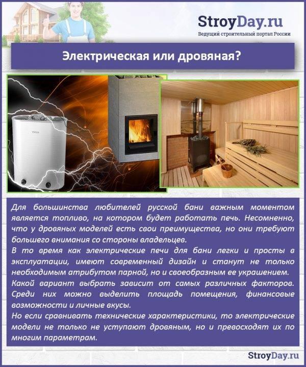 Устройства на газу и дровах уже в прошлом? электрическая печь для сауны — идеальный выбор
