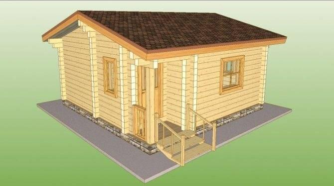 Строительство бани из бруса - пошаговая инструкция строительства и особенности дизайна