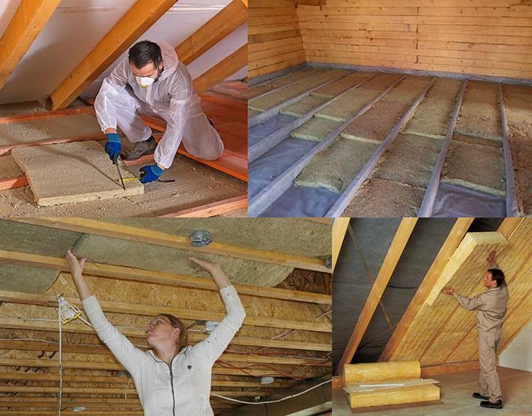 Как утеплить крышу бани своими руками – выбираем материал и способ утепления