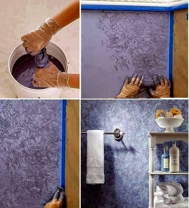 Как помыть потолок покрашенный водоэмульсионной краской и можно ли мыть стены на кухне мо