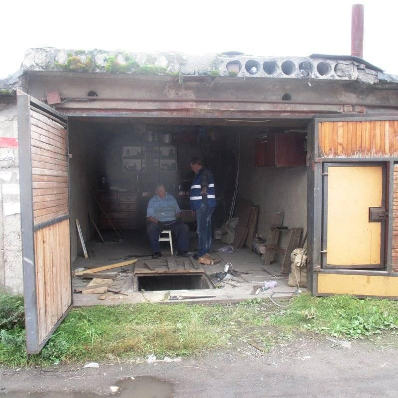 Сауна в подвале гаража