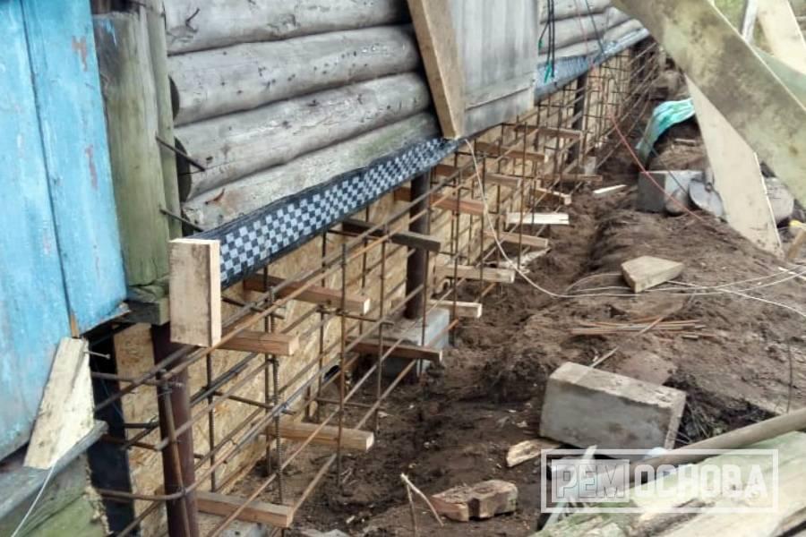 Самостоятельный ремонт цоколя фундамента – как выполнить