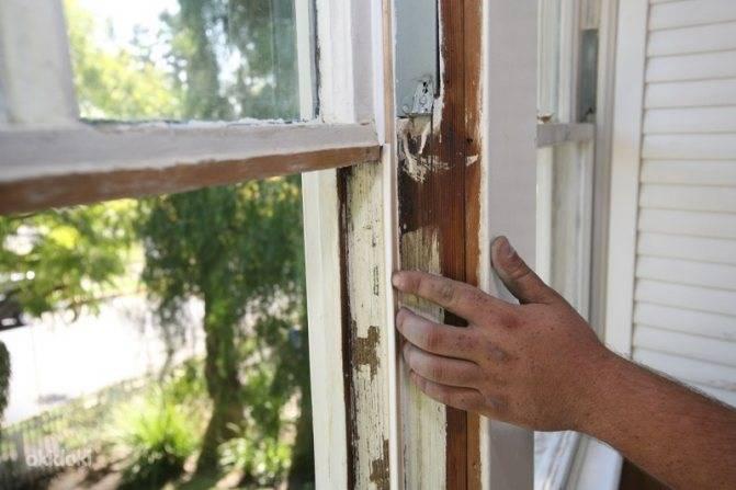 Как самостоятельно обновить старые деревянные окна