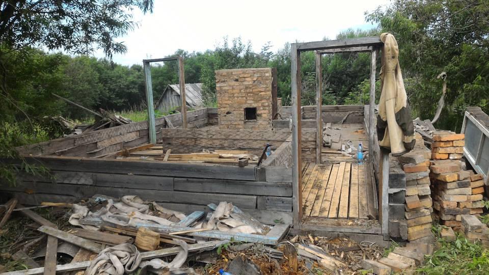 Баня из шпал: как быстро и недорого построить своими руками