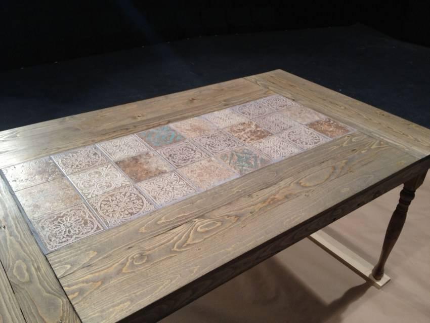 Деревянная мозаика: использование на фасаде (15 фото)