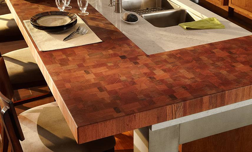 Столешница из дерева для кухни своими руками: изготовление, монтаж, уход