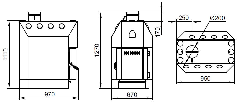 Печи бутакова — обзор конструкции