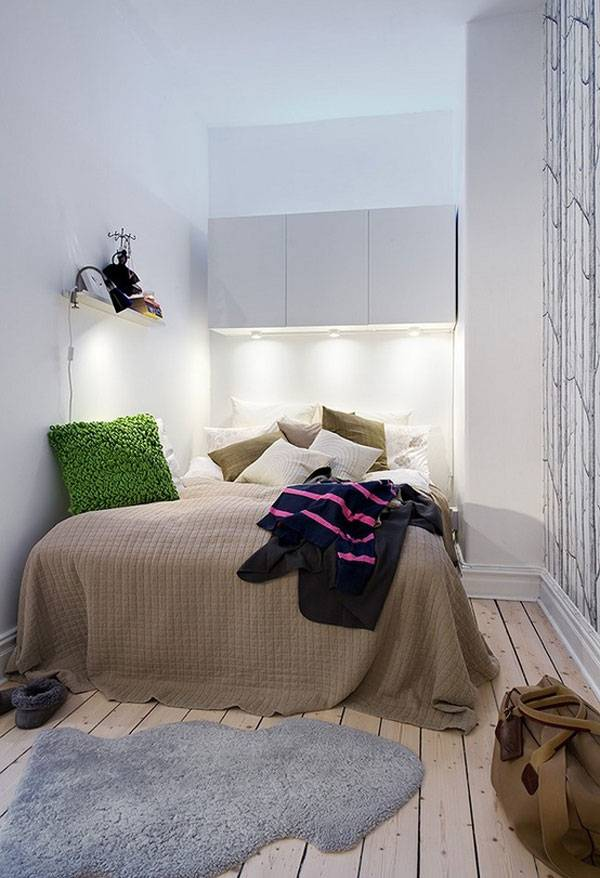 Дизайн спальни с диваном вместо кровати фото