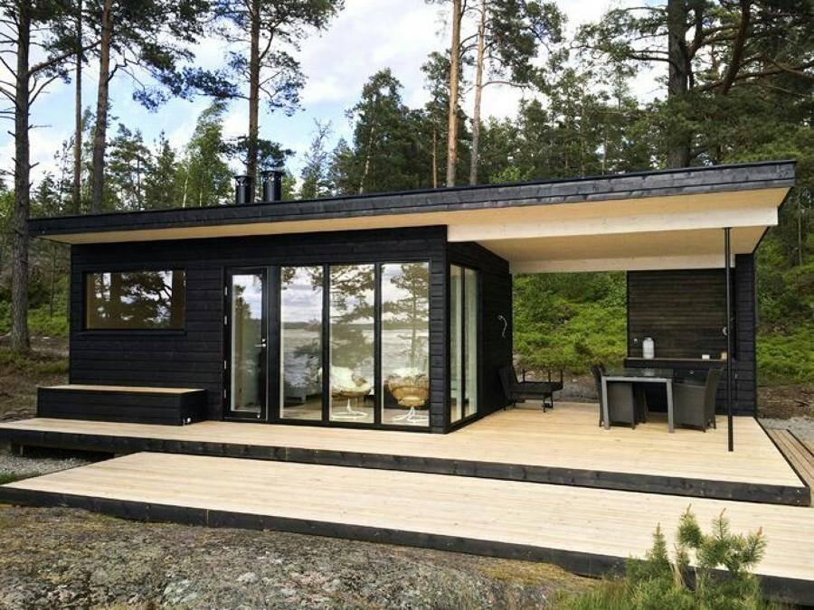 Дома в стиле «хай-тек» (79 фото): лучшие проекты одноэтажных каркасных домов с плоской крышей