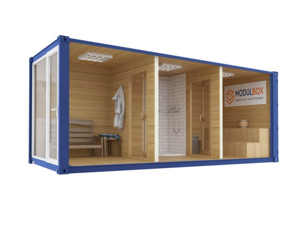Дом из морского контейнера: планировка, нюансы, цены, как оформить