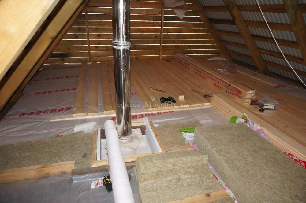 Утепление потолка в доме с холодной крышей: как утеплить в частном коттедже, как правильно утеплять своими руками