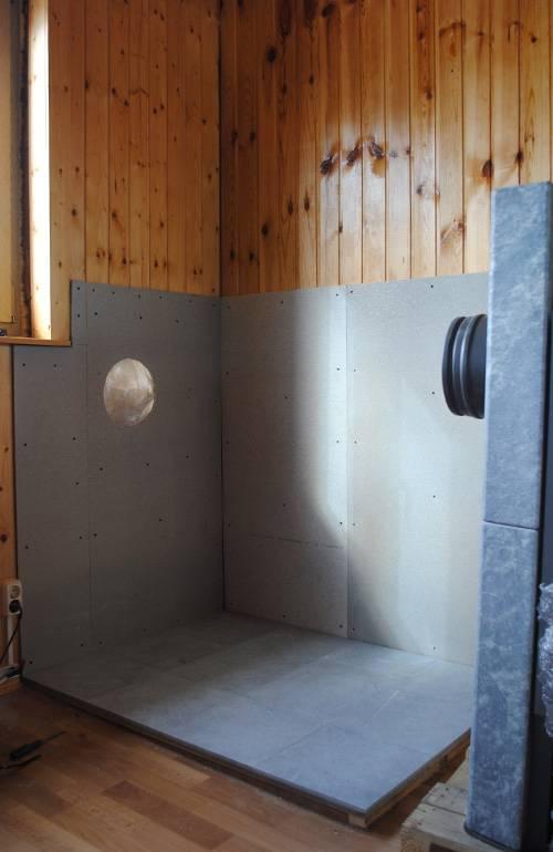 Как сделать защиту стен бани от жара печи – технологии и материалы