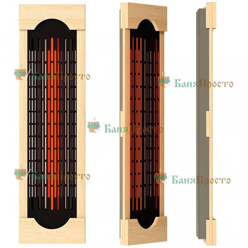 Оборудование для инфракрасной сауны: плюсы и минусы карбонового типа нагревателей