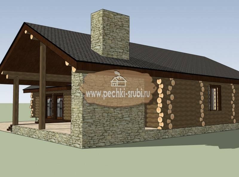 Бани, дополненные комнатой для отдыха, местом для барбекю, а также террасой. проекты, планирование, фото