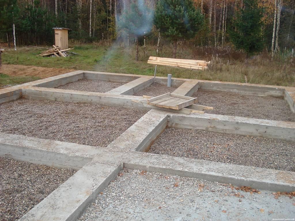 Какой бетон нужен для фундамента дома из разных материалов