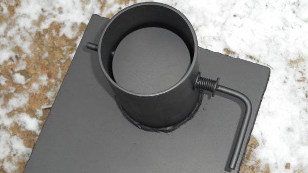Что такое шибер для дымохода и как это используется