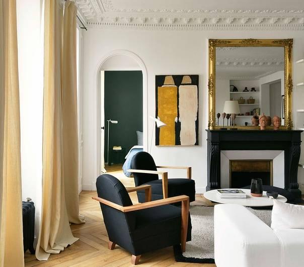 До и после: маленькая студия в париже в доме xix века