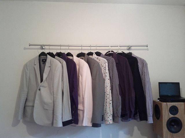 Идеи хранения вещей без шкафов