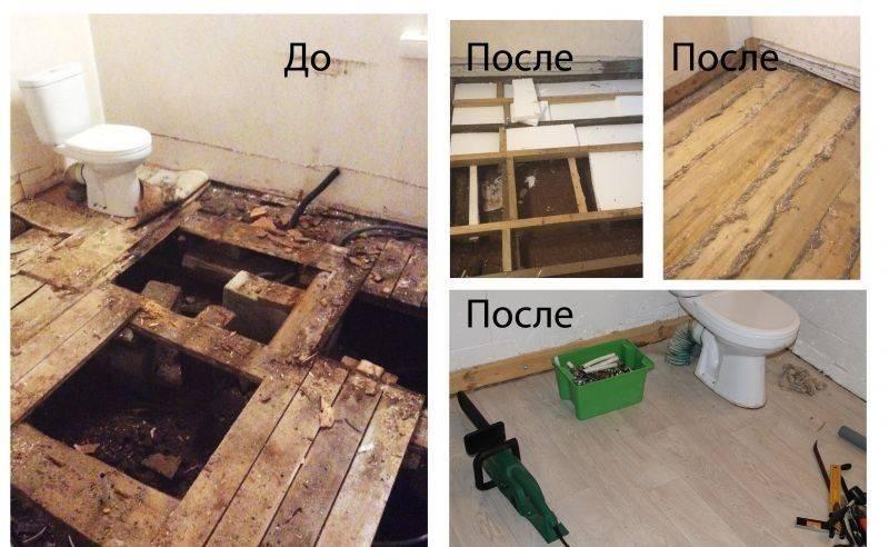 Ремонт деревянного пола своими руками, подготовка к работе, правила проведения простого ремонта, этапы капитального ремонта деревянного пола своими руками.