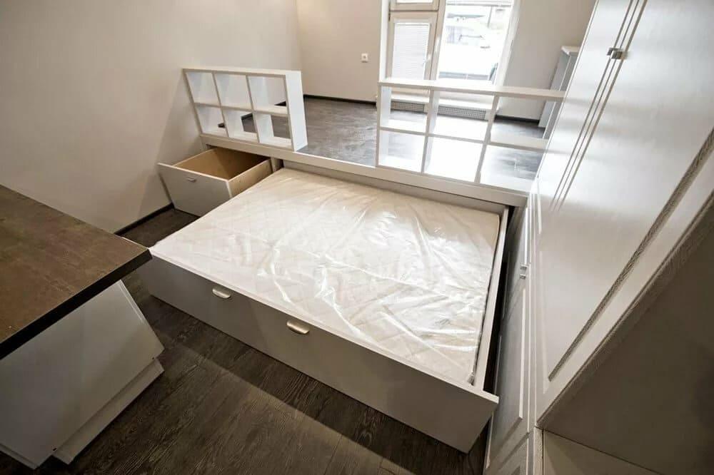 Узкая спальня: 55 фото, идеи дизайна и расстановки мебели