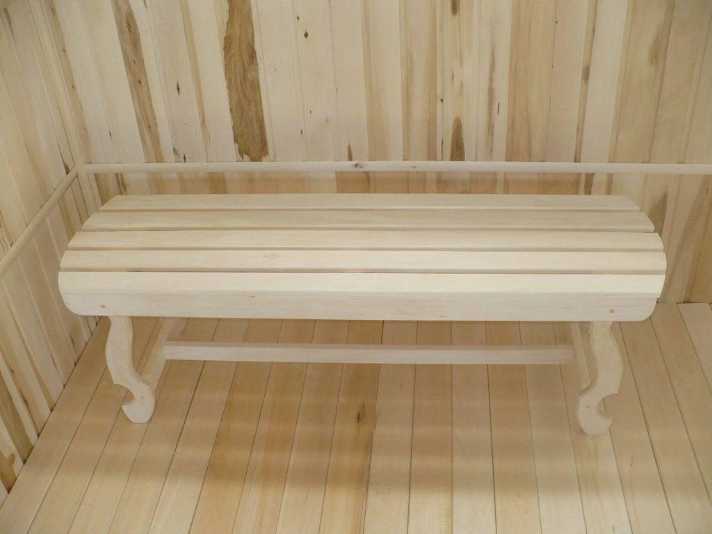 Деревянная мебель для бани и сауны своими руками, чертежи и схемы сборки