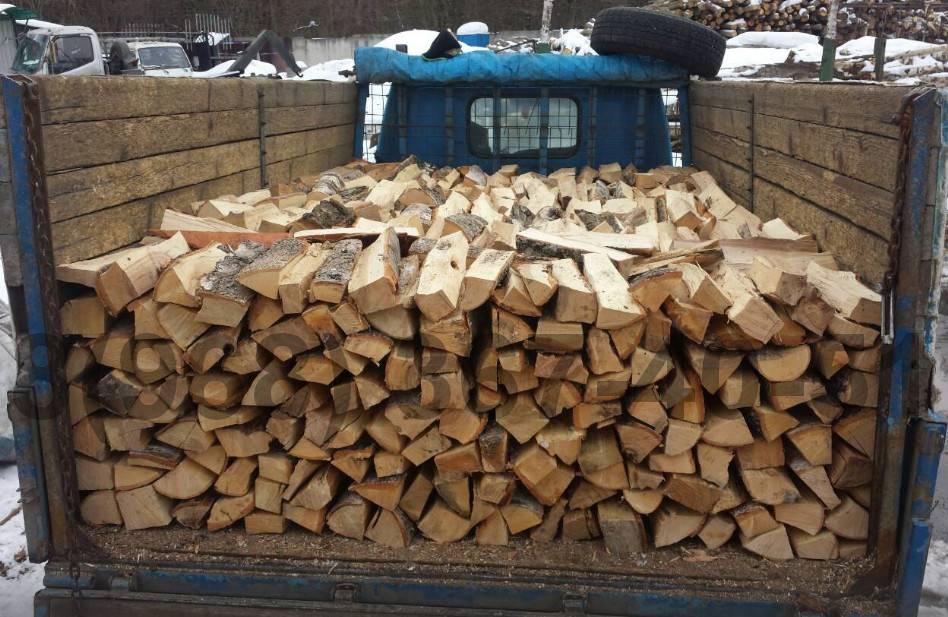 Сколько сохнут колотые дрова разных пород