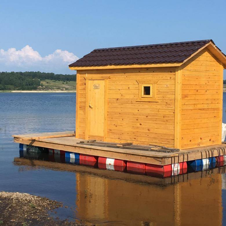 Бизнес идея баня на воде