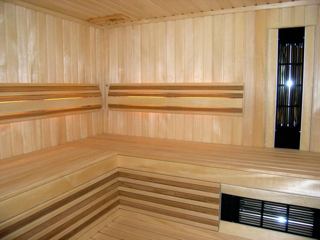 Парилка в бане: отделка и обшивка парной вагонкой своими руками