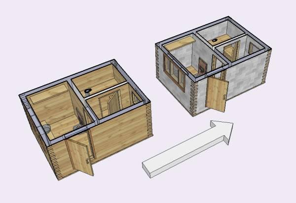 Как правильно построить баню из блоков своими руками?