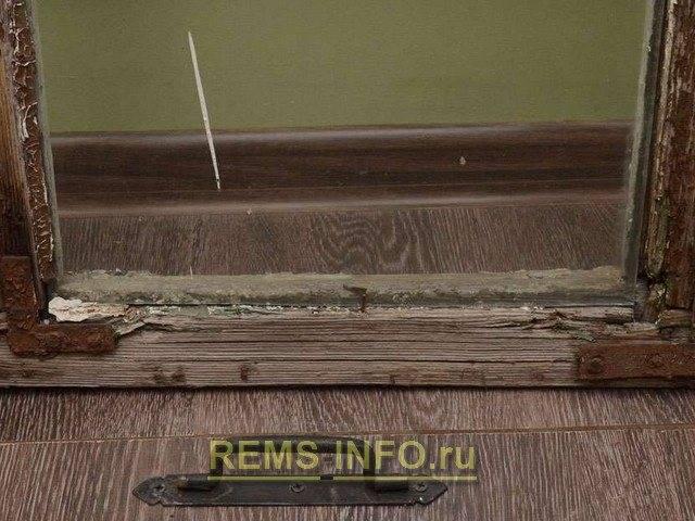 Реставрация деревянных окон: инструкция по ремонту своими руками