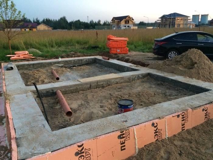 Как построить баню из кирпича – начинаем с фундамента и заканчиваем крышей