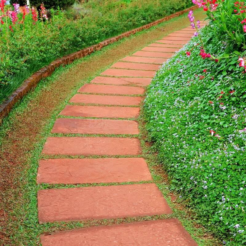 Как сделать садовые дорожки на даче своими руками? (80+ фото вариантов отличных идей) +отзывы