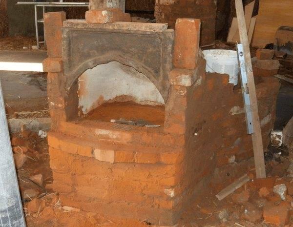 Печь из старой чугунной ванны своими руками - пошаговая инструкция