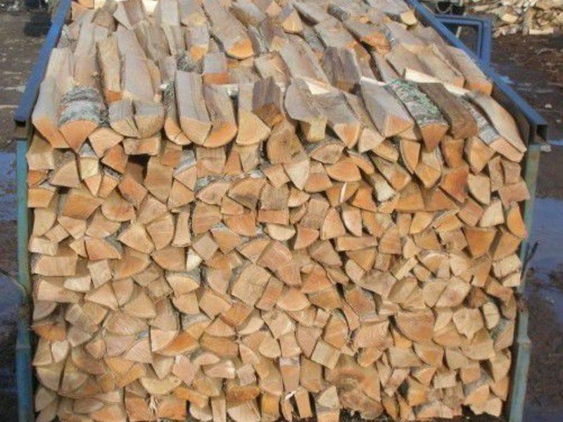 Сколько сохнут дрова на улице