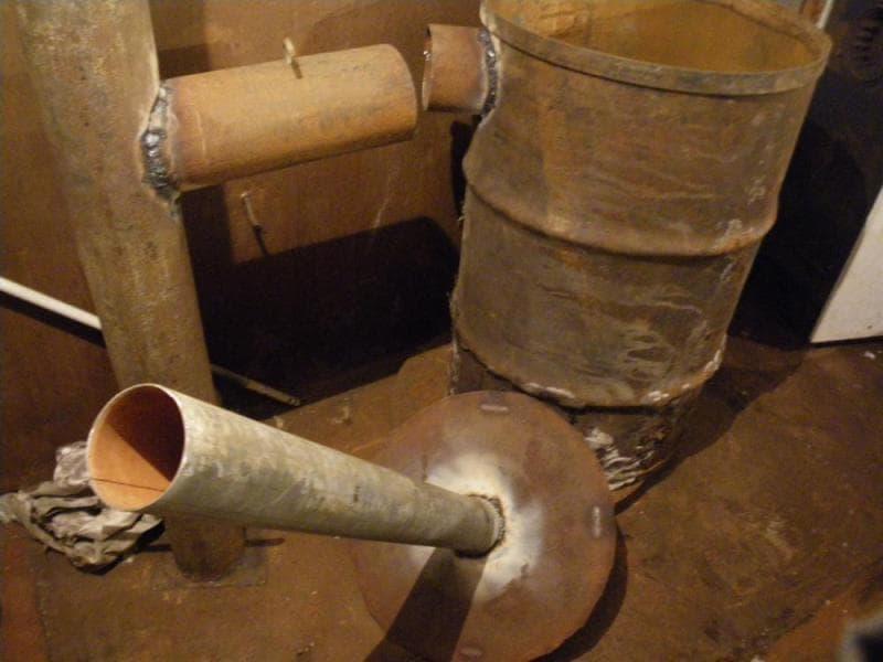 Изготовление самодельных котлов для бани из подручных материалов