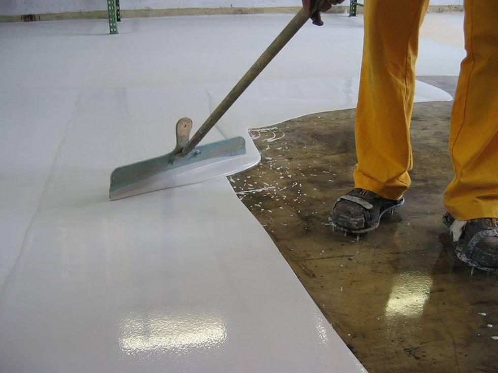 Как правильно железнить бетон цементом