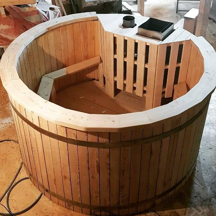 Банный чан своими руками: как сделать чан для купания на дровах по чертежам с размерами? раскладка. схема изготовления