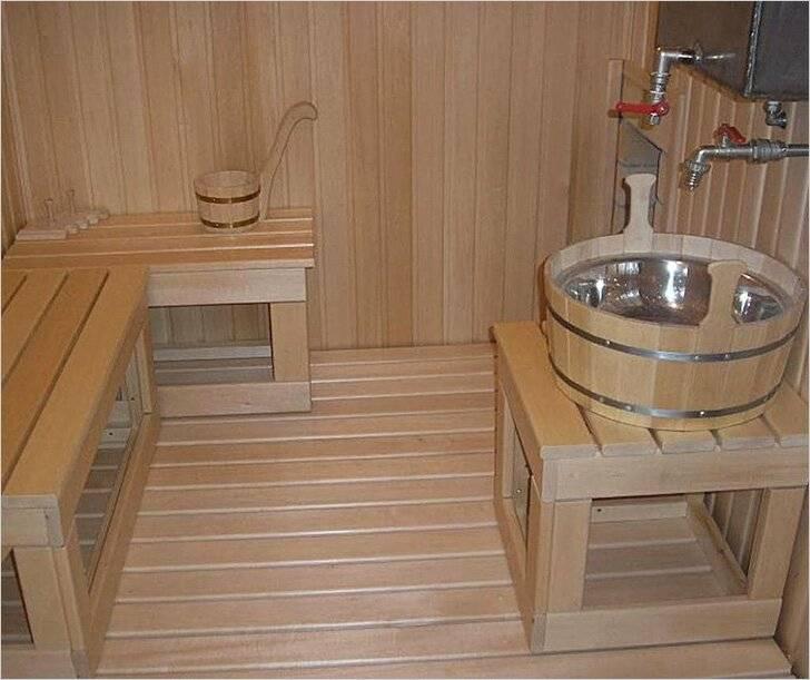 Планировка и строительство мини-бани