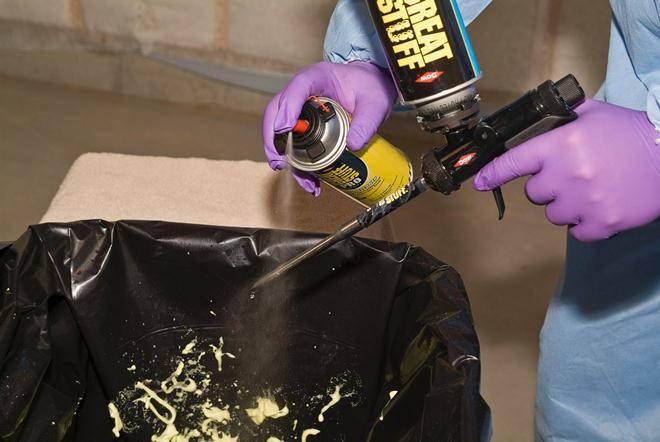 Как почистить пистолет для пены монтажной? как очистить и промывать, если она засохла, тонкости промывки, чем промыть