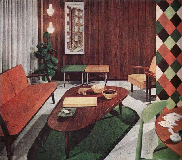 Каким был интерьер в 60-х годах: сходства и различия советских и американских квартир